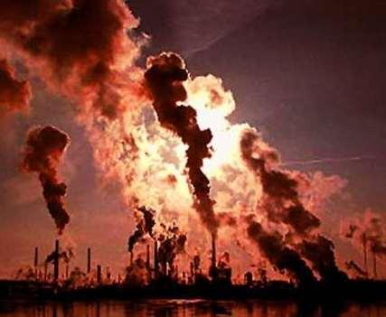 contaminación antropogenica industrial