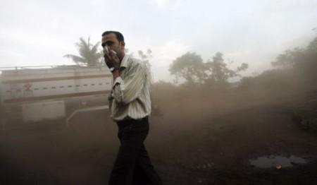 contaminacion aire india