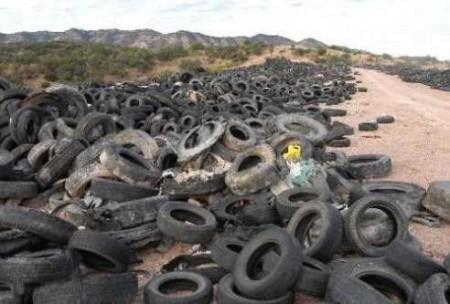 contaminacion del suelo neumaticos