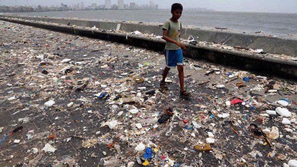 Contaminación basura calles
