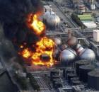 explosión de plantas nuclear produce gran contaminación radioactiva